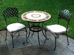 Wrought Iron Bistro Table Mosaic Bistro Table Set Alfresco Home Compass Wrought Iron Mosaic