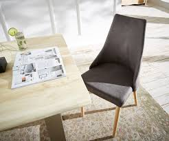 Esszimmerst Le Leder Eiche Stühle Und Weitere Möbel Bei Delife Günstig Online Kaufen Bei