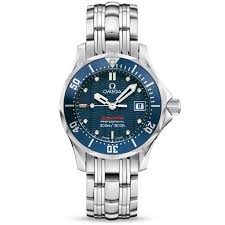 omega bracelet watches images Omega seamaster diver 300m 2224 80 00 ladies bracelet watch jpg