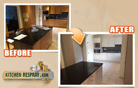 how much does it cost to respray kitchen cabinets kitchen respray price more affordable than buying brand new items