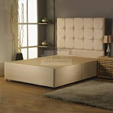 Divan Or Bed Frame Alastair Suede Divan Bed Base With Headboard Options Guaranteed
