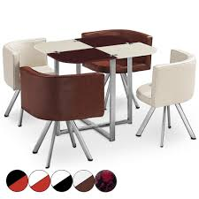 table avec 4 chaises table avec chaise encastrable
