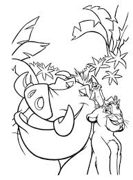 lion king coloring coloring pages kids