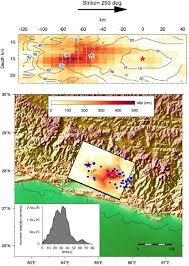 Nepal On Map The April 25 2015 Nepal Earthquake Earth Observatory Of Singapore