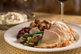 thanksgiving serving dishes turkey sans dishes spork orlando