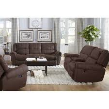 Living Room Furniture Sofas Carrera Living Room Reclining Sofa U0026 Loveseat Xw950