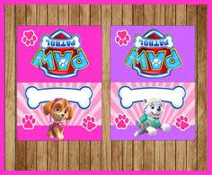 paw patrol food tent cards instant myboutiquepartyfl