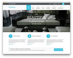 Design Home Page Online 30 Responsive U0026 Free Flat Design Wordpress Themes
