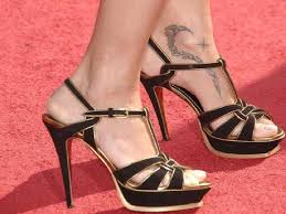 awesome adriana lima ankle foot tribal tattoo designs toycyte