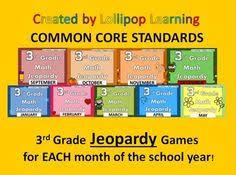 jeopardy k 3 16 math kindergarten and classroom