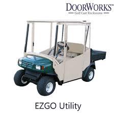 golf cart cover e z go utility doorworks vinyl 1 jpeg v u003d1498666517