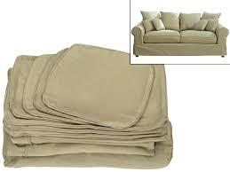 changer housse canapé changer assise canape housse de fauteuil canapac et coussin en