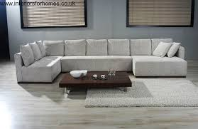 U Shaped Sofa Sectional by Double Chaise Sectional Sofa Large U Shaped Sectionals Future