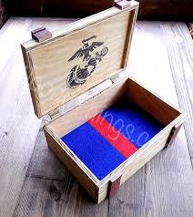 personalized wooden keepsake box personalized marine corps wooden keepsake box with battalion