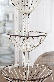 Shabby Chic Wire Baskets by 145 Best Basket Case Images On Pinterest Wicker Baskets Basket