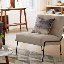 tufted slipper chair style u2014 the home redesign