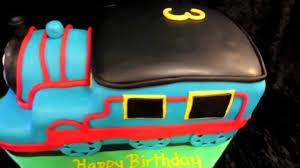 how to make a 3d thomas the train cake youtube