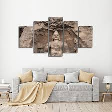 stone engraved buddha multi panel canvas wall art u2013 elephantstock