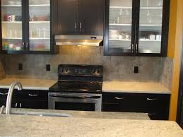 Black Glass Cabinet Doors Black Kitchen Cabinets With Glass Doors Best Black Kitchen