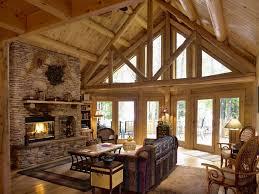 modern log home interiors log home interior photogiraffe me