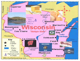 Wisconsin State Map State Maps Osher Map Library