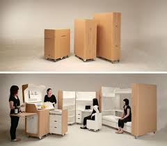 office kitchen furniture rooms in boxes space saving bedroom office kitchen
