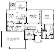 craftsman floor plan dranlake craftsman ranch home plan 051d 0682 house plans and more