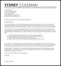 administrative assistant cover letter administrative assistant
