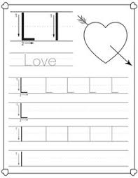 26 christmas themed letter tracking worksheets for preschoolers