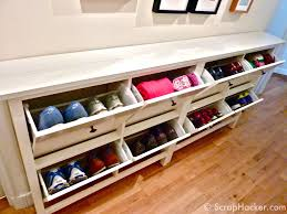 Storage Bench Ikea Luxury Walk In Closet Shoes Storage Great Design Ideas Ikea
