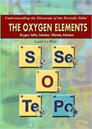 Sulfur On The Periodic Table The Oxygen Elements Oxygen Sulfur Selenium Tellurium Polonium