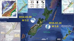 Earthquake Map Usgs Earthquake Report New Zealand Earthjay Science
