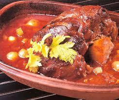 cuisiner le jarret de boeuf jarret de bœuf dans le diable betty bossi