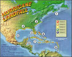 Hurricane Tracking Map Atlantic Hurricane Tracking By Year