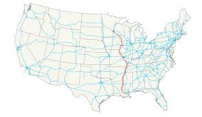 Trans America Trail Map by U S Route 61 Wikipedia