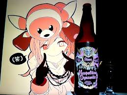 beer cheers cartoon neapolitian dynamite collaboration by stone brewing abnormal beer