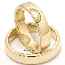 his and hers wedding mens womens set 10k yellow gold matching his hers wedding bands