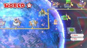 Super Mario World Level Maps by World Star Super Mario 3d World Mariowiki Fandom Powered By