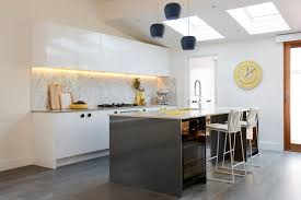 carly leighton contemporary art deco kitchen freedom kitchens