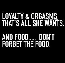 Loyalty Meme - as a girl are you gonna eat that memes