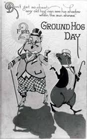 groundhog day cards groundhog day postcards antique shoppe archives