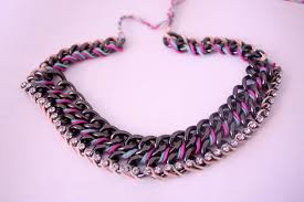 chain necklace diy images Diy an adorable chunky chain necklace shedoesthecity fashion jpg