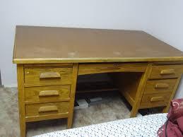 Oak Desk Furniture Old Oak Desk Antique Appraisal Instappraisal