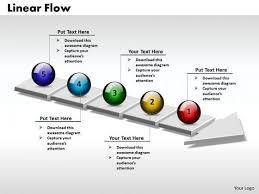 process powerpoint template ppt 3d circle arrow process flow free