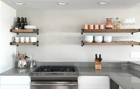kitchen amusing modern open kitchen shelves counter shelf upper
