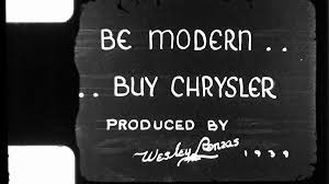 chrysler advertisement used car graphic 1940s vintage film home