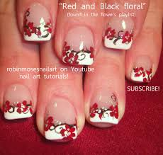 prom nails robin moses red black and w u2026 6 red prom nail designs