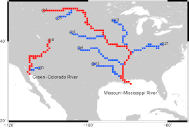 100 Map Washington State 1926 by Intercomparison Of Global River Discharge Simulations Focusing On