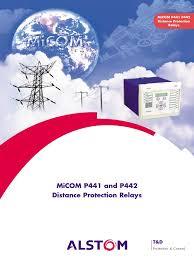 alstom micom p441 p442 relay electronic circuits