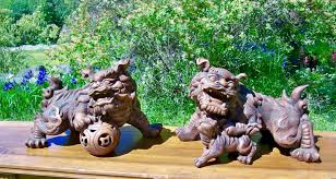 foo dogs for sale vintage bronze guardian lions foo dogs for sale